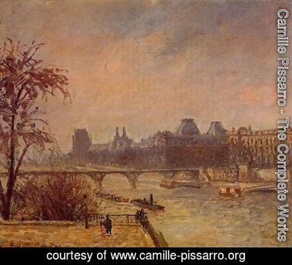 Camille Pissarro - The Seine and the Louvre, 1903