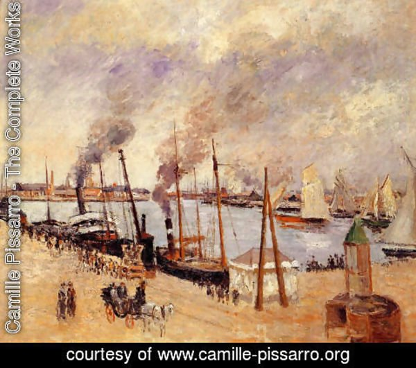 Camille Pissarro - The Port of Le Havre