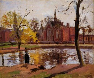 Camille Pissarro - Dulwich College, London, 1871