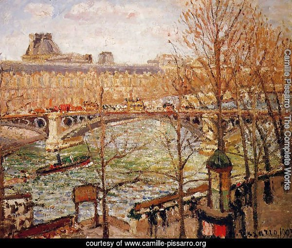 The Pont du Carrousel, Afternoon