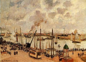 Camille Pissarro - The Port of Le Havre I