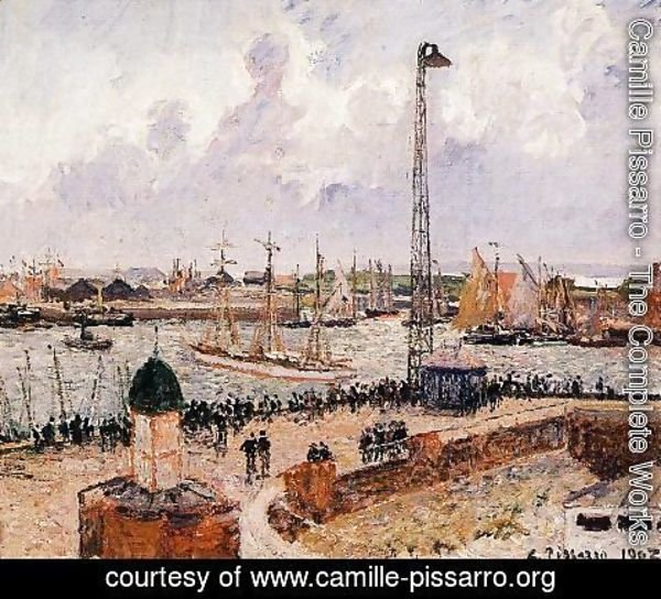 Camille Pissarro - The Inner Harbor, Le Havre