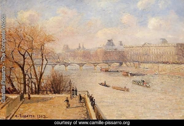 The Raised Terrace of the Pont-Neuf