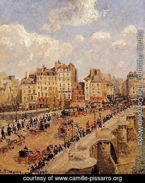 Camille Pissarro - The Pont-Neuf