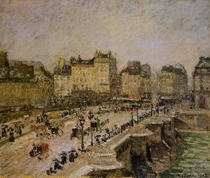 The Pont-Neuf: Snow