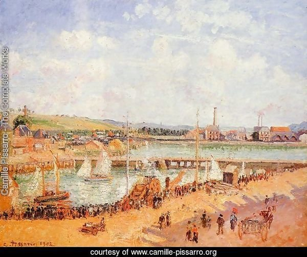 The Port of Dieppe, the Dunquesne and Berrigny Basins: High Tide, Sunny Afternoon