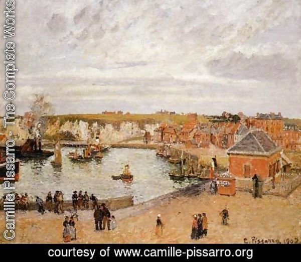 Camille Pissarro - The Port of Dieppe
