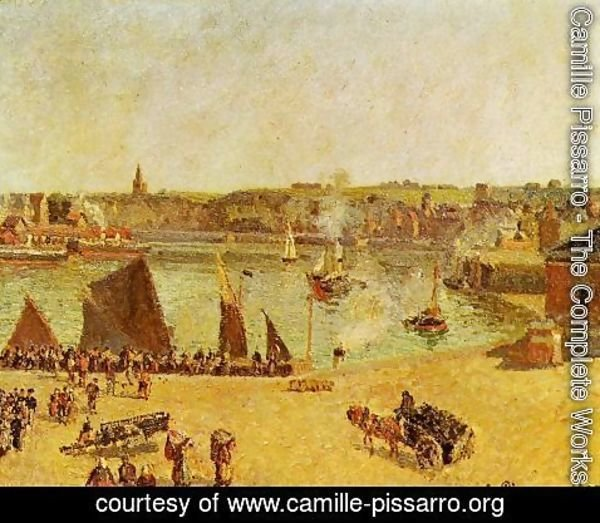 Camille Pissarro - The Inner Harbor, Dieppe