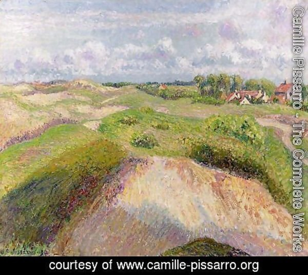 Camille Pissarro - The Dunes at Knocke, Belgium