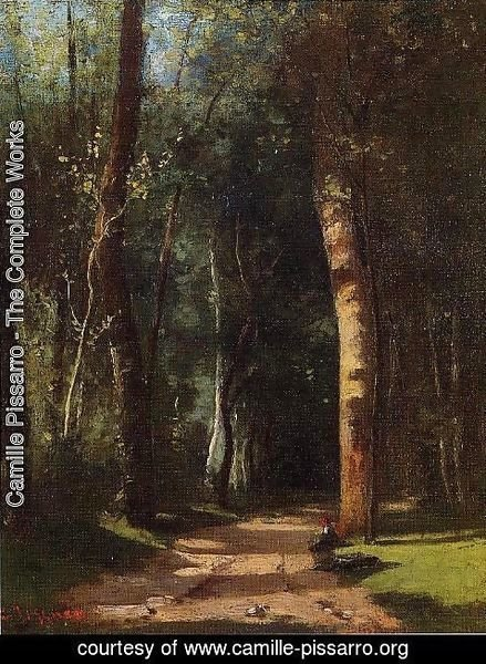 Camille Pissarro - In the Woods