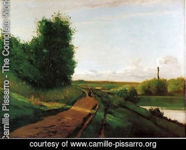 Camille Pissarro - The Banks of the Marne