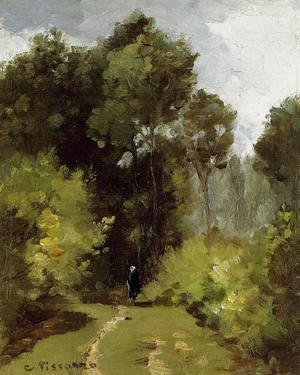 Camille Pissarro - In the Woods I
