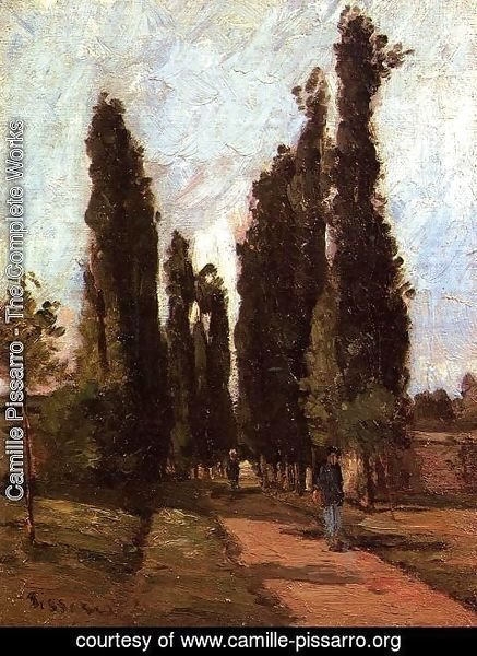 Camille Pissarro - The Road