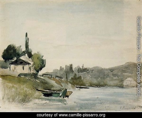 The Banks of the Marne at Cennevieres