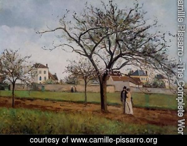 Camille Pissarro - The House of Pere Gallien, Pontoise