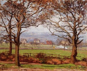 Camille Pissarro - Near Sydenham Hill, Looking towards Lower Norwood