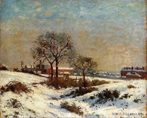 Camille Pissarro - Landscape under Snow, Upper Norwood