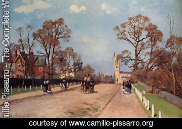 Camille Pissarro - The Avenue, Sydenham