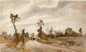 Camille Pissarro - Road to Saint-Germain, Louveciennes