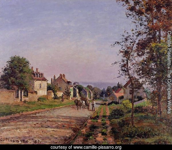 Outskirts of Louveciennes