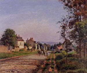 Camille Pissarro - Outskirts of Louveciennes