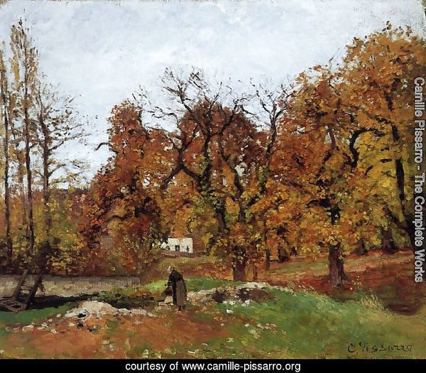 Autumn Landscape, near Pontoise