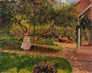 Camille Pissarro - Corner of the Garden in Eragny