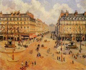 Avenue de l'Opera: Morning Sunshine
