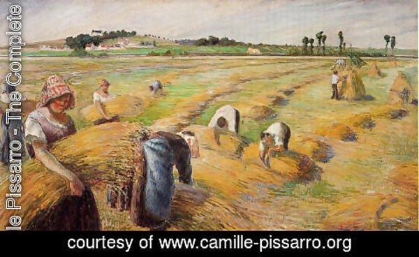Camille Pissarro - The Harvest I