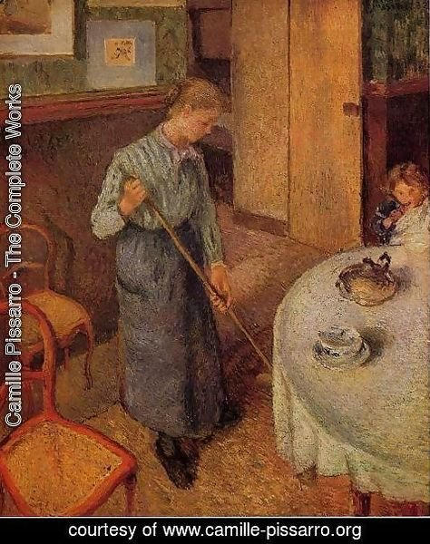 Camille Pissarro - The Little Country Maid