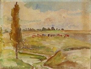 Camille Pissarro - Landscape at Osny