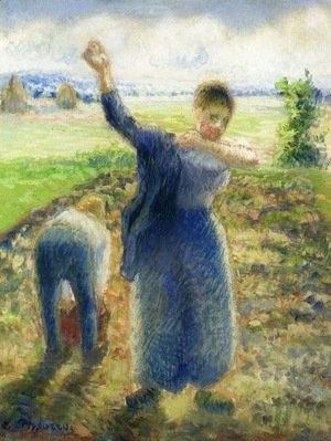 Camille Pissarro - Workers in the Fields
