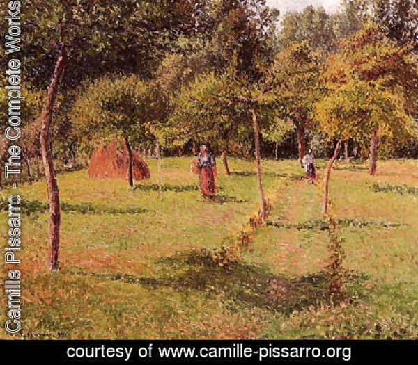 Camille Pissarro - Enclosed Field at Eragny