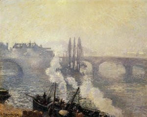 The Pont Corneille , Rouen: Morning Mist