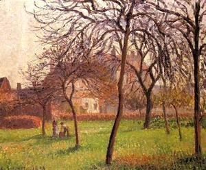 Camille Pissarro - Mother Lucien's Field at Eragny