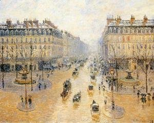 Avenue de l'Opera: Snow Effect I