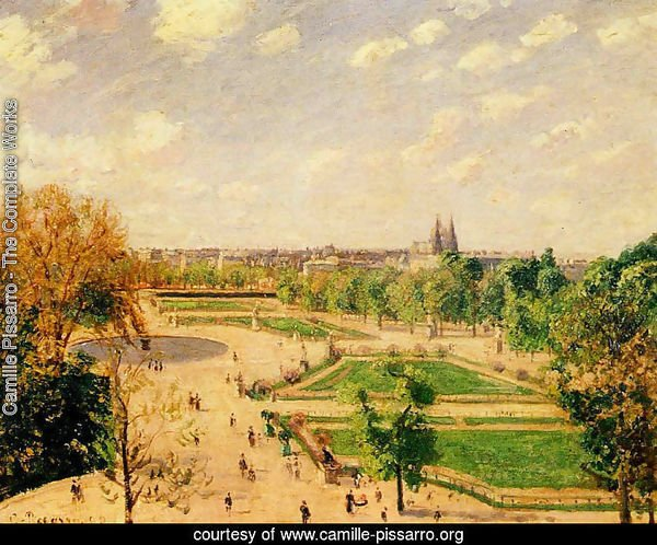 The Tuilleries Gardens: Morning, Spring, Sun