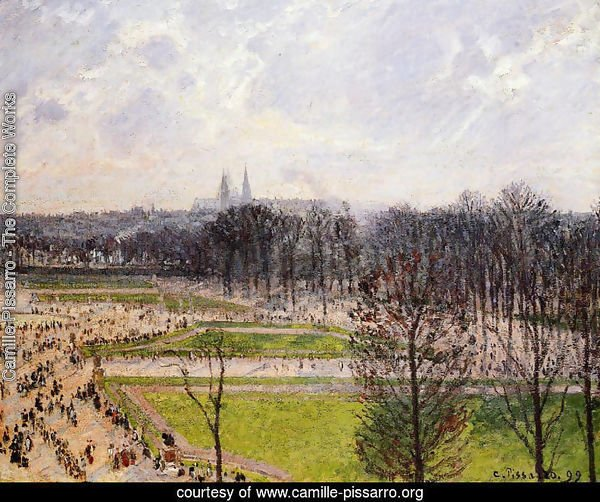 The Tuileries Gardens: Winter Afternoon