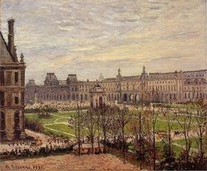 Camille Pissarro - The Carrousel: Grey Weather