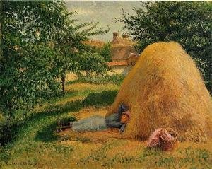 Camille Pissarro - The Siesta