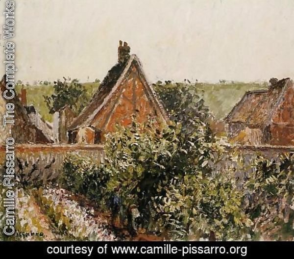 Camille Pissarro - Harvest in the Orchard, Eragny