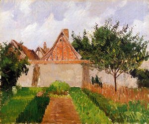 Camille Pissarro The Complete Works Portrait Of Paulemile Camille