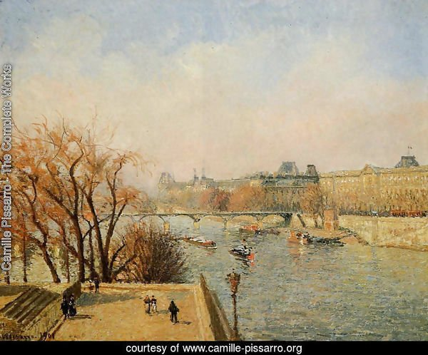 The Louvre: Morning, Sun