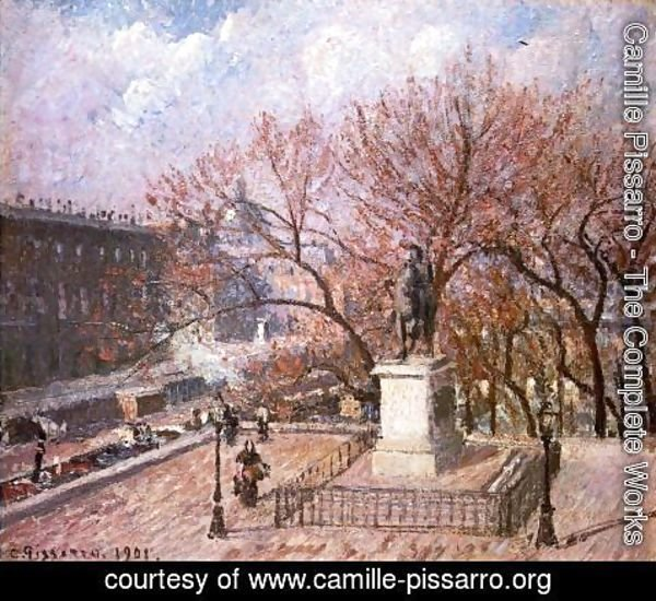 Camille Pissarro - The Pont-Neuf and the Statue of Henri IV
