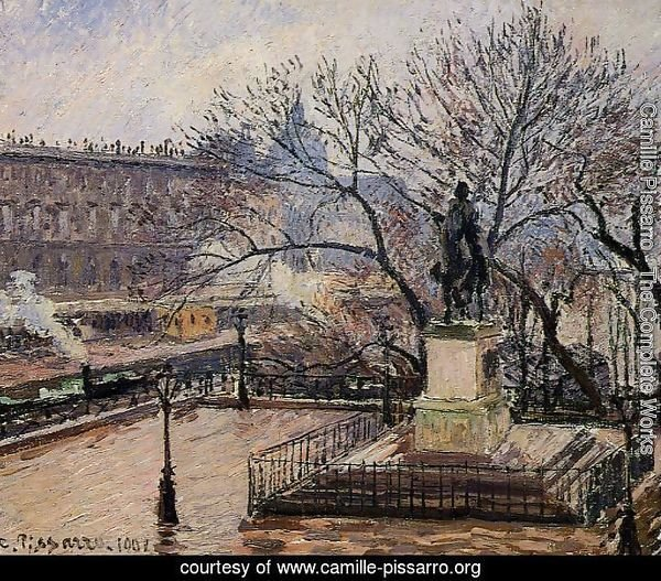 The Raised Tarrace of the Pont-Neuf and Statue of Henri IV