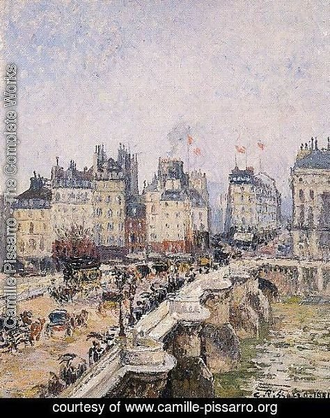 Camille Pissarro - The Pont-Neuf IV