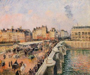 The Pont-Neuf: Afternoon Sun