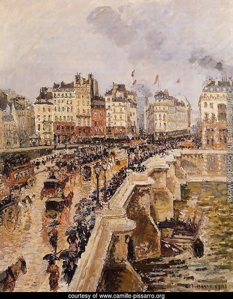 The Pont-Neuf: Rainy Afternoon
