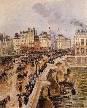 Camille Pissarro - The Pont-Neuf: Rainy Afternoon