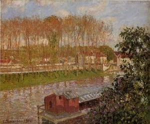 Setting Sun at Moret